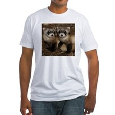 Black-footed Ferrets Fitted T-Shirt