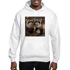 Black-footed Ferrets Hooded Sweatshirt