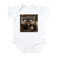 Black-footed Ferrets Infant Bodysuit