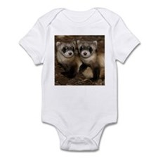 Black-footed Ferrets Infant Bodysuit