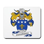 Berenguer Coat of Arms Mousepad
