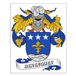 Berenguer Coat of Arms Small Poster
