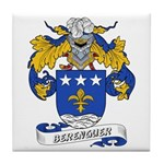 Berenguer Coat of Arms Tile Coaster