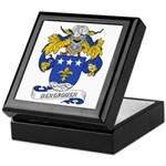 Berenguer Coat of Arms Keepsake Box