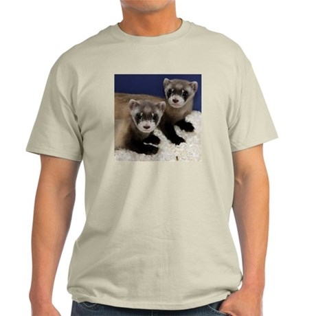 Black-footed Ferrets Light T-Shirt