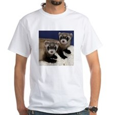 Black-footed Ferrets White T-Shirt
