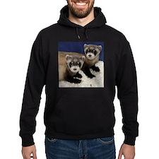 Black-footed Ferrets Hoodie (dark)