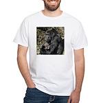 Mom and Baby Gorilla White T-Shirt