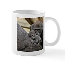 Mom and Baby Gorilla Mug