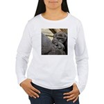 Mom and Baby Gorilla Women's Long Sleeve T-Shirt