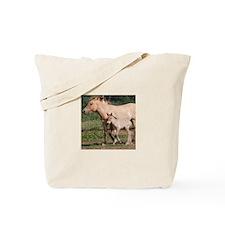 Przewalski's Wild Horses Tote Bag