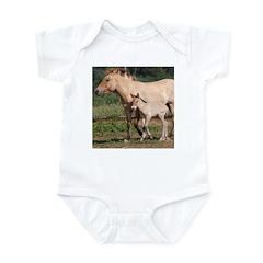 Przewalski's Wild Horses Infant Bodysuit