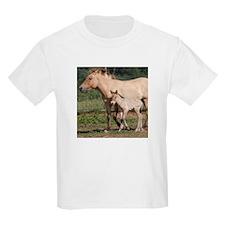 Przewalski's Wild Horses T-Shirt