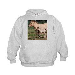Przewalski's Wild Horses Hoodie