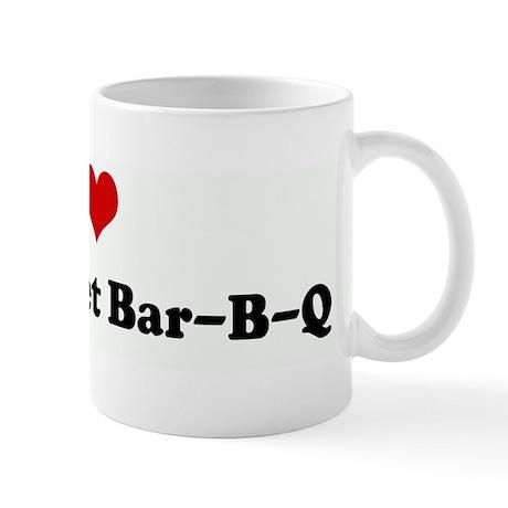 I Love New Market Bar-B-Q Mug