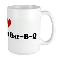 I Love New Market Bar-B-Q Mug