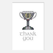 Celtic Thank You Postcards (Package of 8)