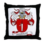 Bernales Coat of Arms Throw Pillow
