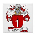 Bernales Coat of Arms Tile Coaster