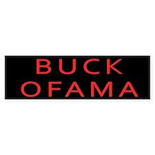 Buck Ofama Bumper Bumper Sticker
