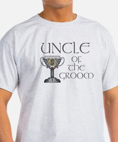 Celtic Uncle of Groom T-Shirt