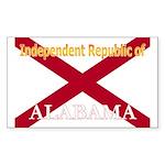 Alabama-4 Rectangle Sticker