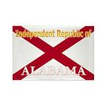 Alabama-4 Rectangle Magnet