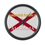 Alabama-4 Large Wall Clock