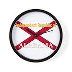 Alabama-4 Wall Clock