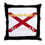 Alabama-4 Throw Pillow