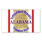 Alabama-3 Rectangle Sticker 10 pk)