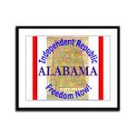 Alabama-3 Framed Panel Print