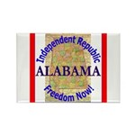 Alabama-3 Rectangle Magnet (100 pack)