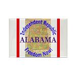 Alabama-3 Rectangle Magnet