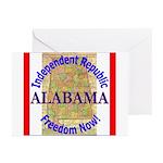 Alabama-3 Greeting Cards (Pk of 20)