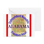 Alabama-3 Greeting Card