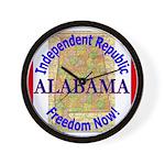 Alabama-3 Wall Clock