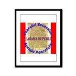 Alabama-1 Framed Panel Print
