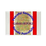 Alabama-1 Rectangle Magnet (100 pack)