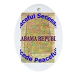 Alabama-1 Ornament (Oval)