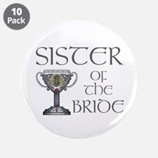 """Celtic Sister of Bride 3.5"""" Button (10 pack)"""