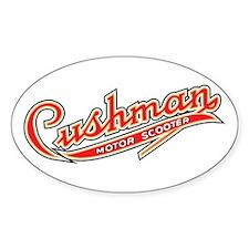 Cushman Oval Bumper Stickers