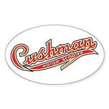 Cushman Oval Decal
