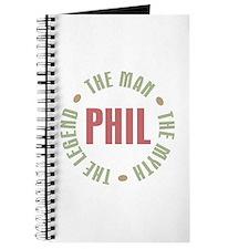 Phil the Man Myth Legend Journal