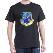 Communications Command Black T-Shirt