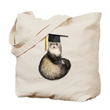 Ferret Graduation Tote Bag
