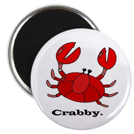 "Crabby 2.25"" Magnet (100 pack)"