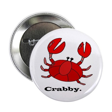 """Crabby 2.25"""" Button (10 pack)"""