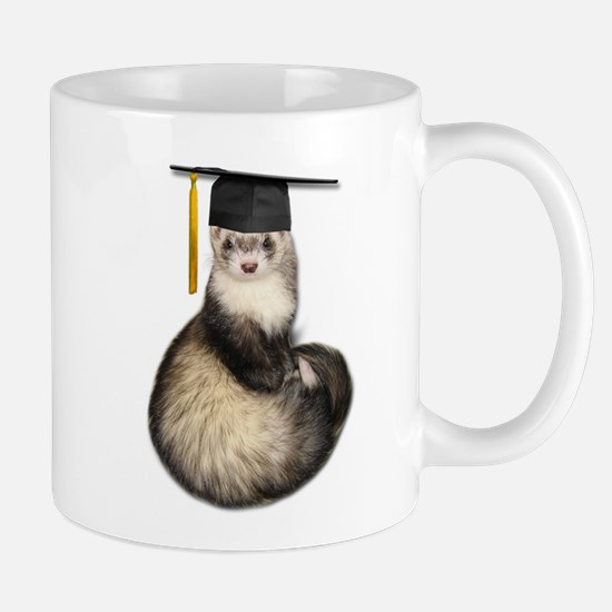 Ferret Graduation Mug