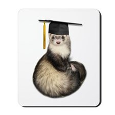 Ferret Graduation Mousepad